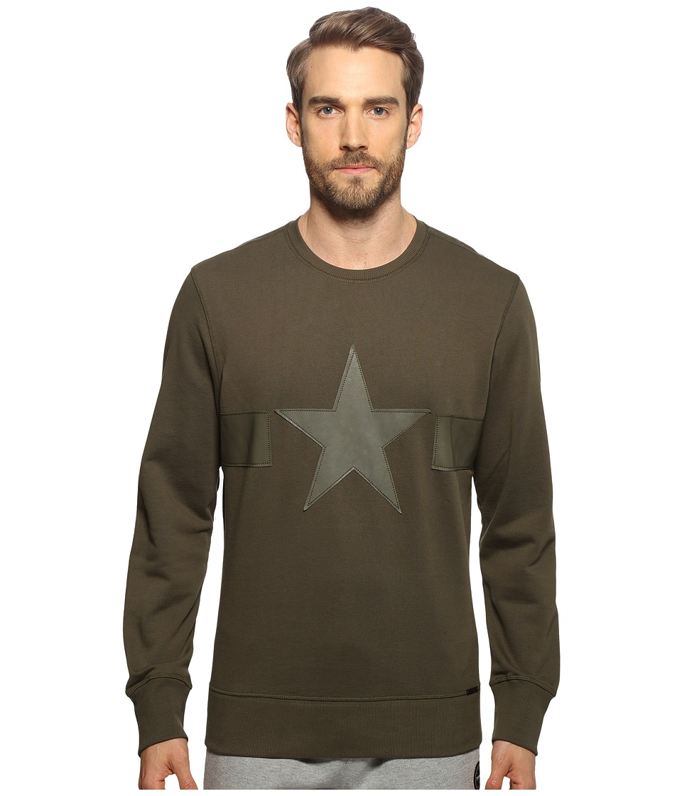 Diesel - S-Joe-MA Sweatshirt (Forest Night) Men's Sweatshirt