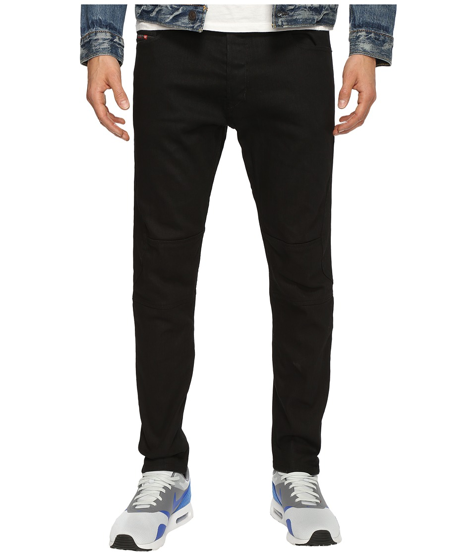 Diesel - T-Ride Trousers Z886 (Black/Denim) Men's Jeans