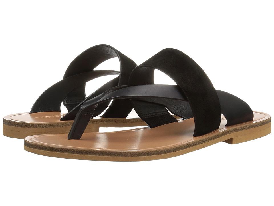 Vince - Tess (Black Calf/Sport Suede) Women's Shoes