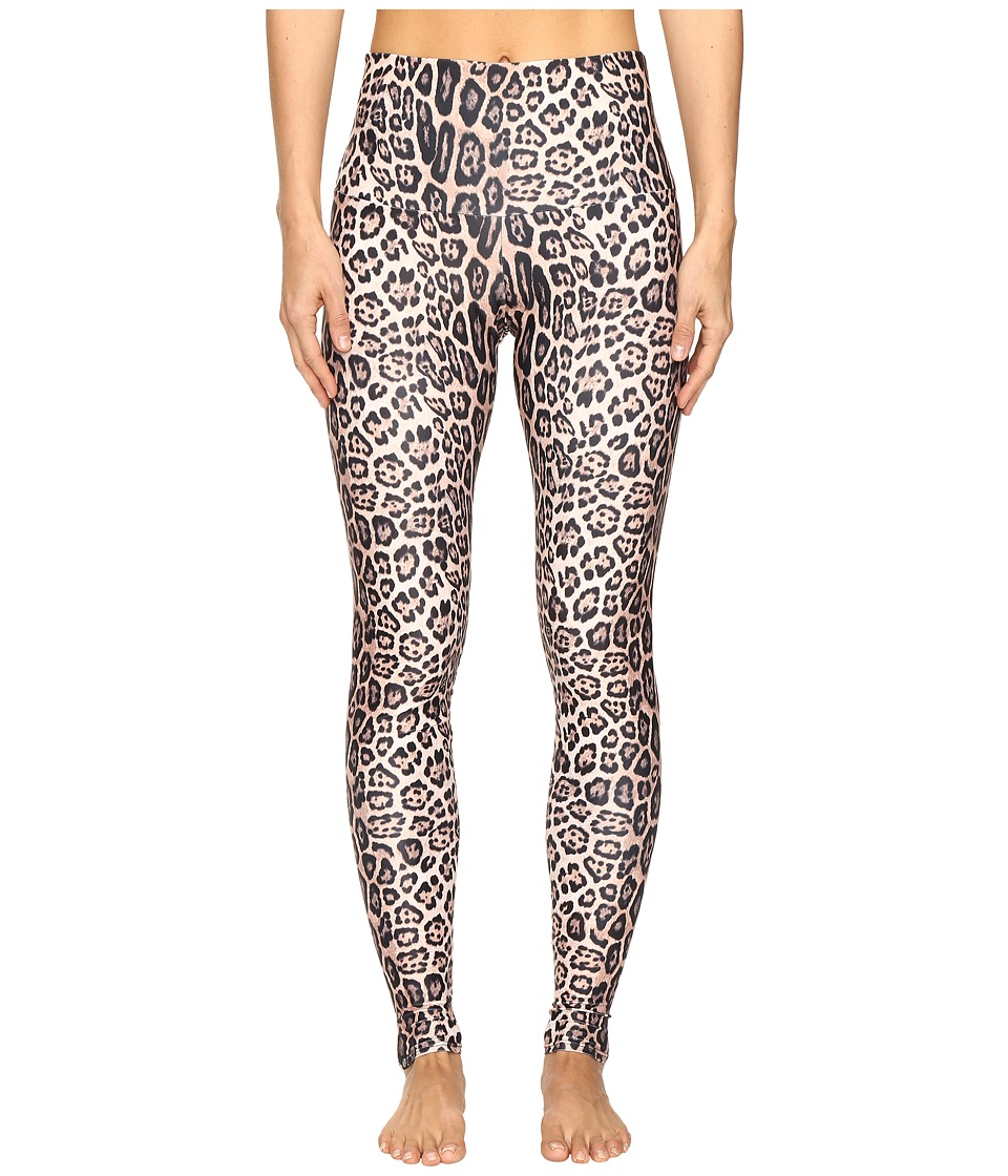 Onzie - High Rise Leggings (Leopard) Women's Casual Pants