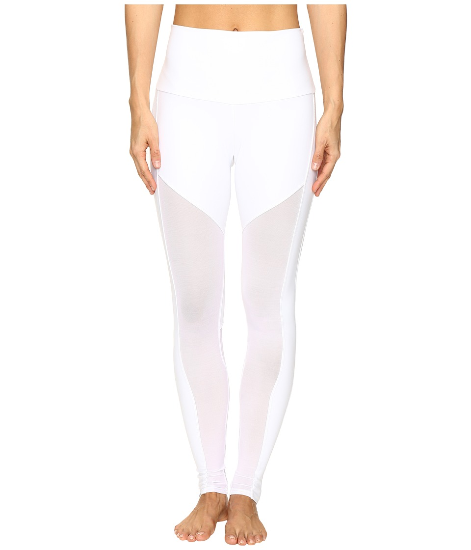 Onzie - Fierce Leggings (White Combo) Women's Casual Pants
