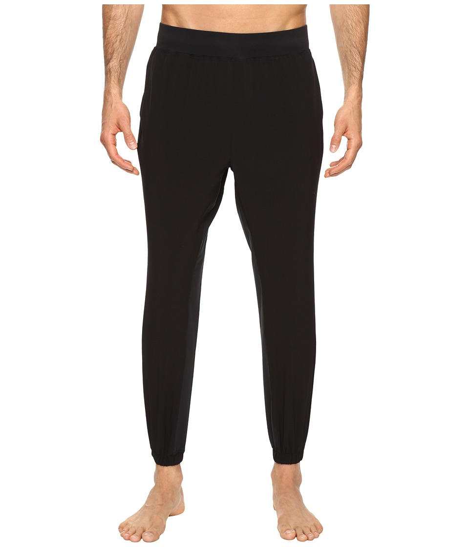Onzie - Woven Pants (Black) Men's Casual Pants
