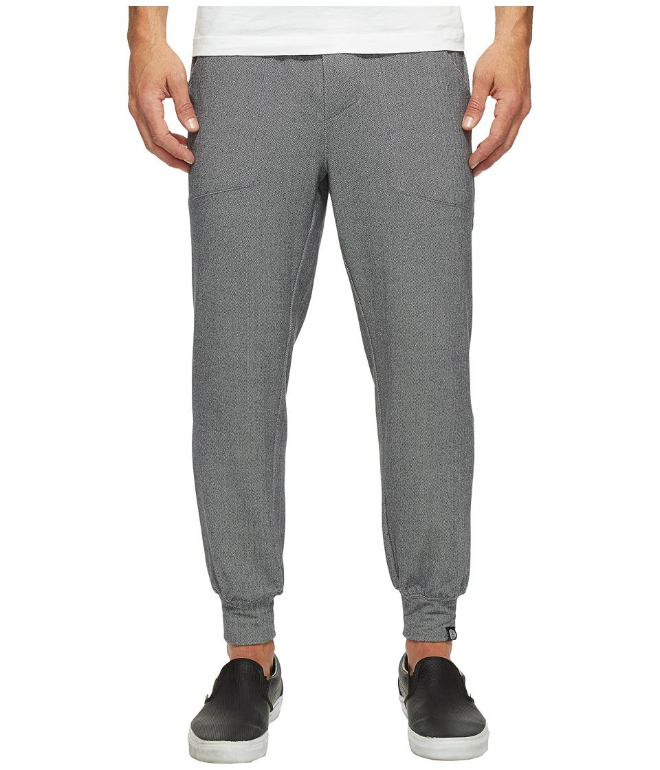 Onzie - Classic Joggers (Charcoal Herringbone) Men's Casual Pants