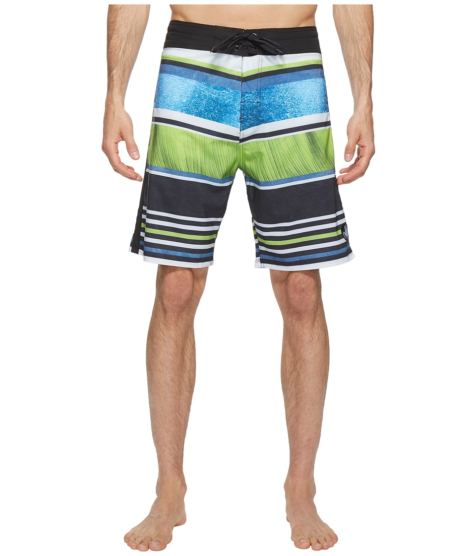 Body Glove - Vapor Leaf Erickson Boardshort (Indigo) Men's Swimwear