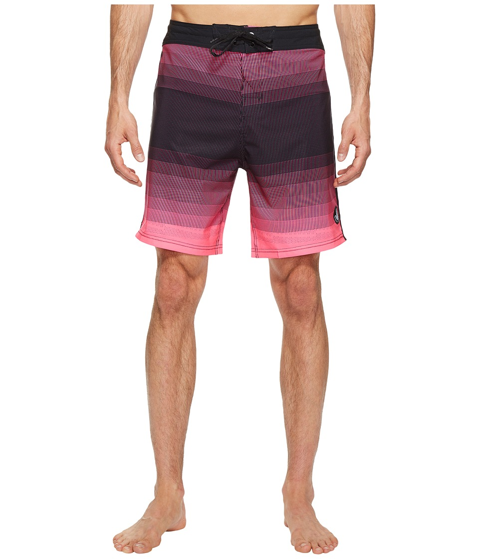 Body Glove Vapor Gravels Boardshorts (Neon Pink) Men