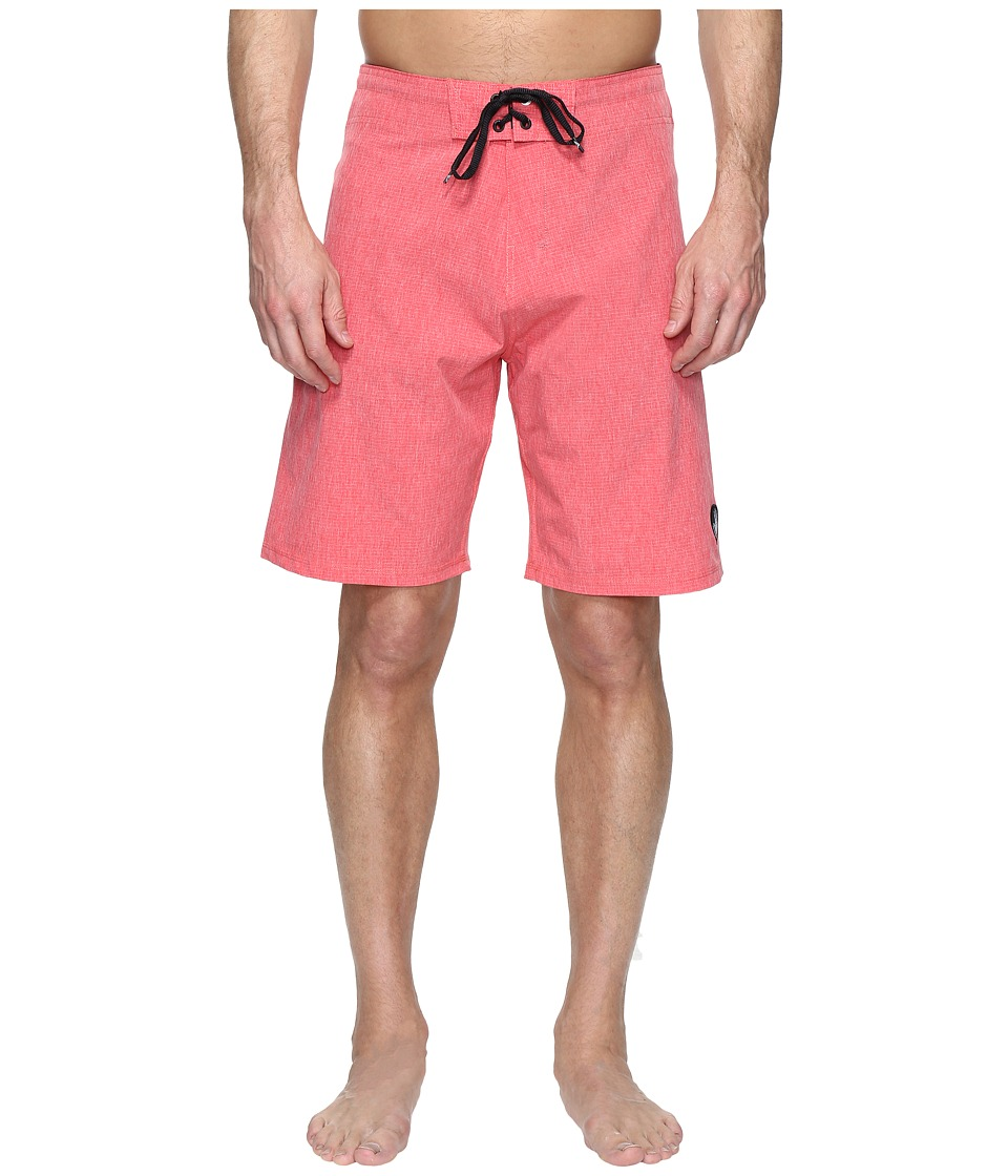 Body Glove Vapor Zupperino Boardshorts (Red Heather) Men