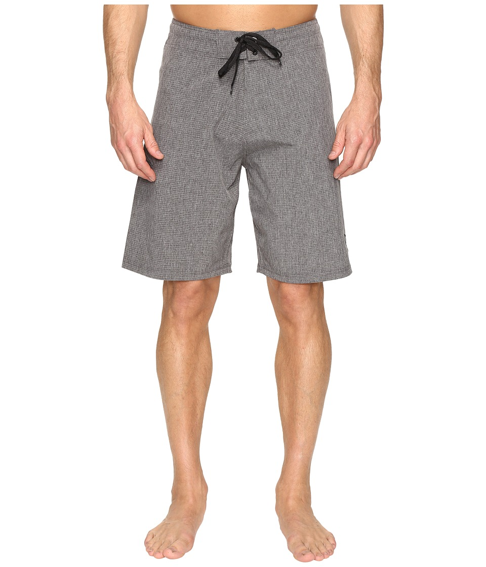 Body Glove Vapor Zupperino Boardshorts (Charcoal Heather) Men
