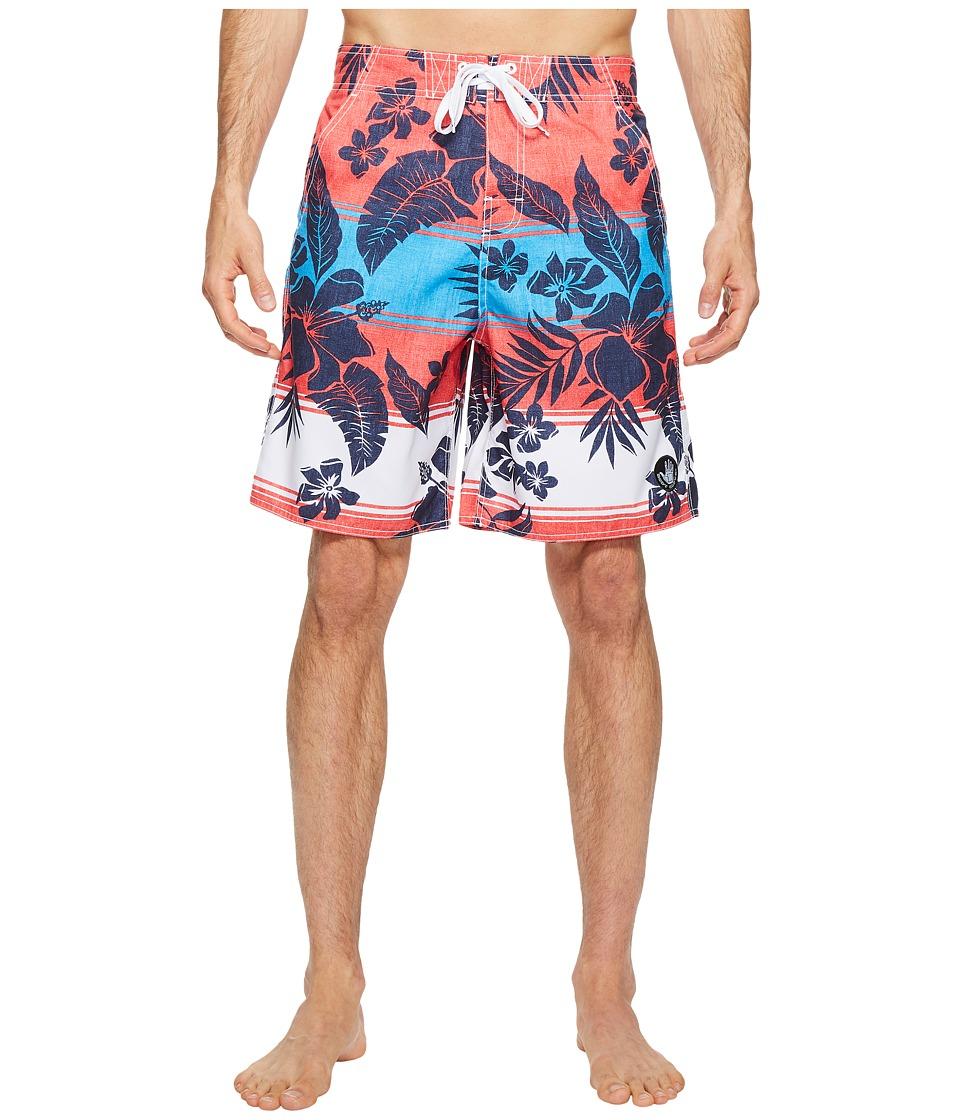 Body Glove - Coronado V-Boardshorts (Infrared) Men's Swimwear