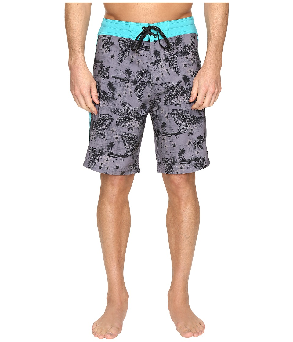 Body Glove Vapor Outrigger Boardshorts (Charcoal) Men