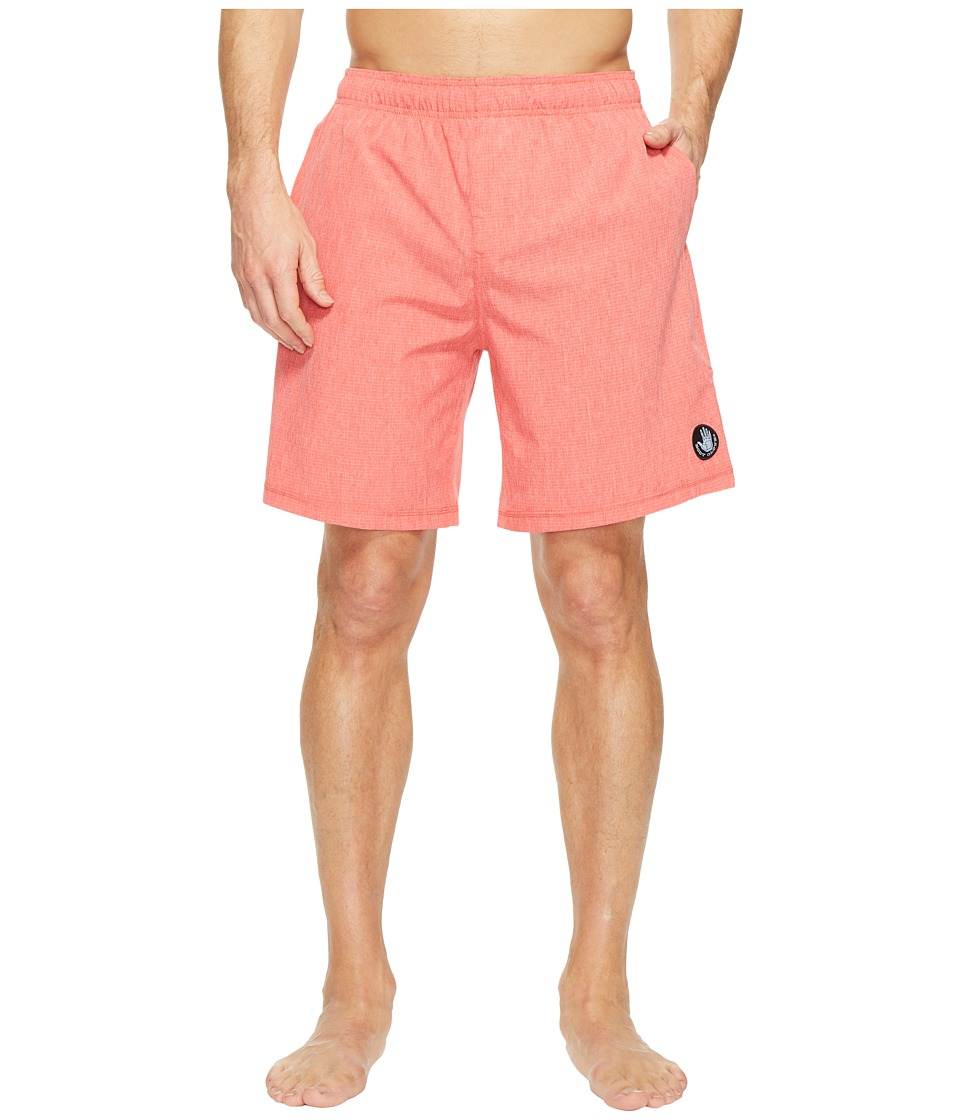 Body Glove Vapor Freestyle Volleys Boardshorts (Red Heather) Men