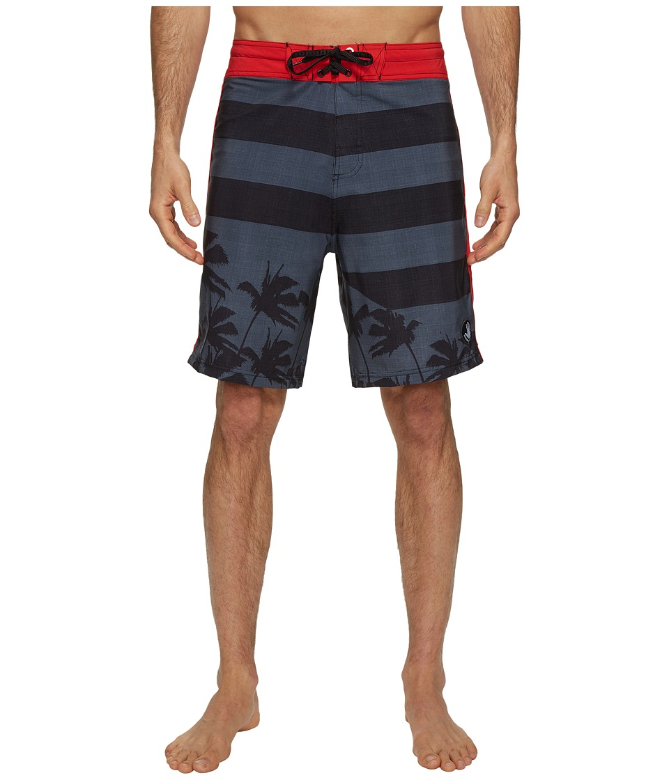 Body Glove - Vapor J.O.B. Boost Boardshorts (Charcoal) Men's Swimwear