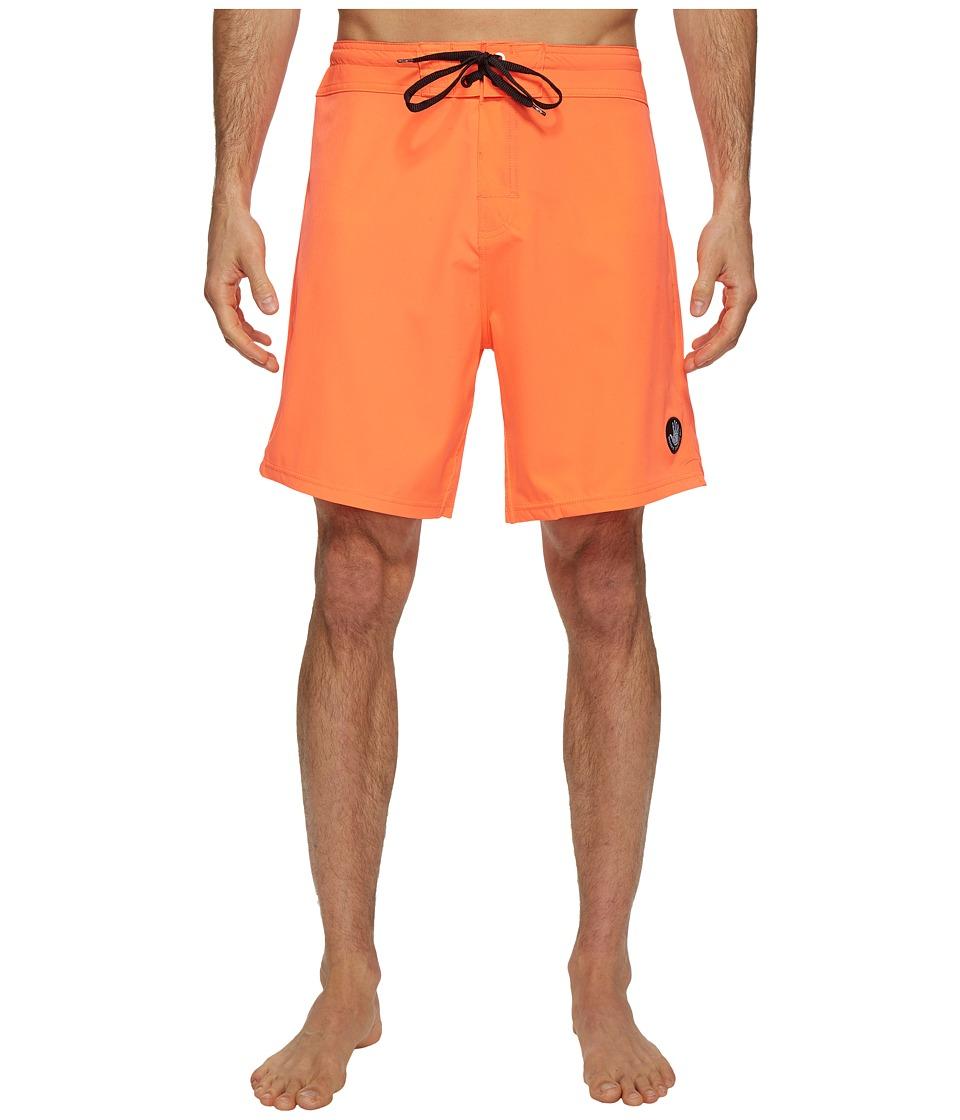Body Glove - Vapor Twin Spin Boardshorts (Orange Whip) Men's Swimwear