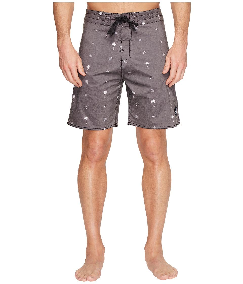 Body Glove - Boneyard Boardshort (Black) Men's Swimwear