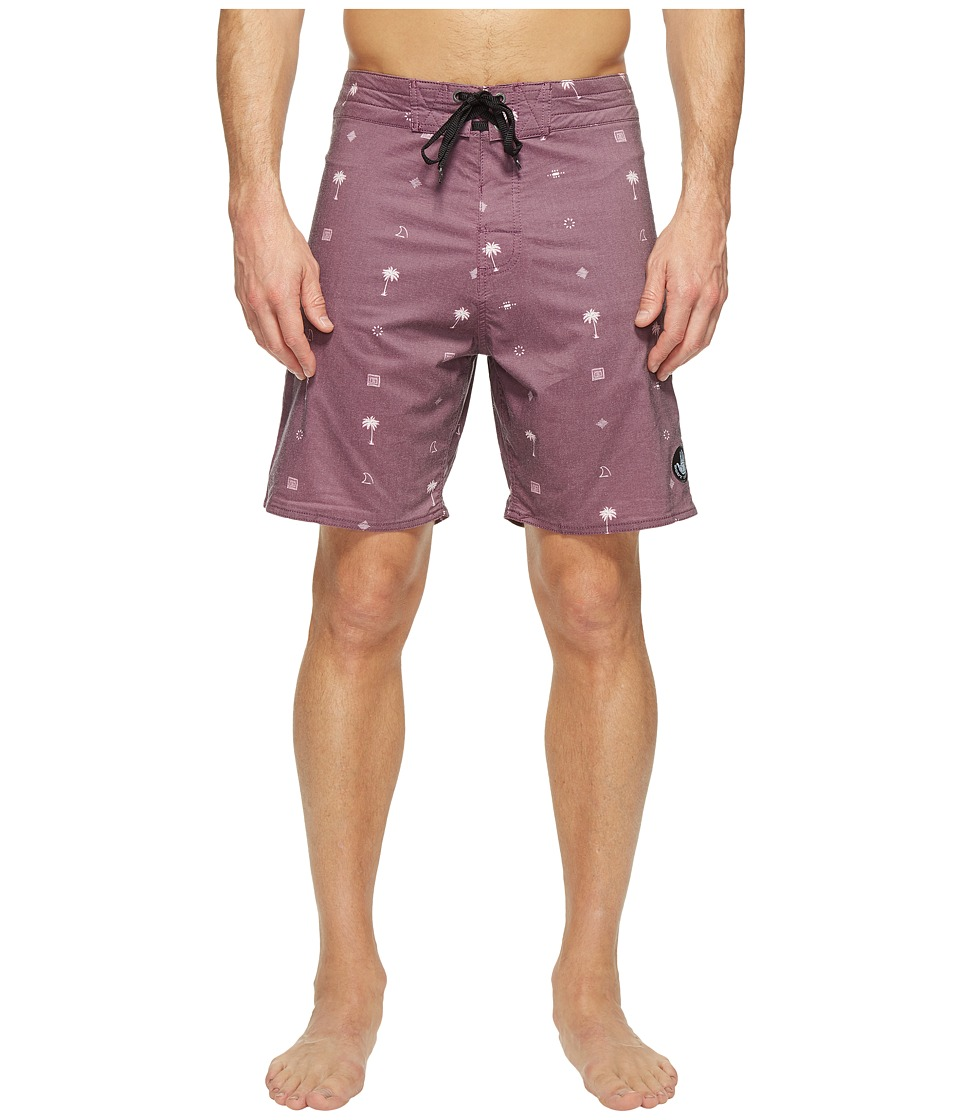 Body Glove - Boneyard Boardshort (Dark Purple) Men's Swimwear
