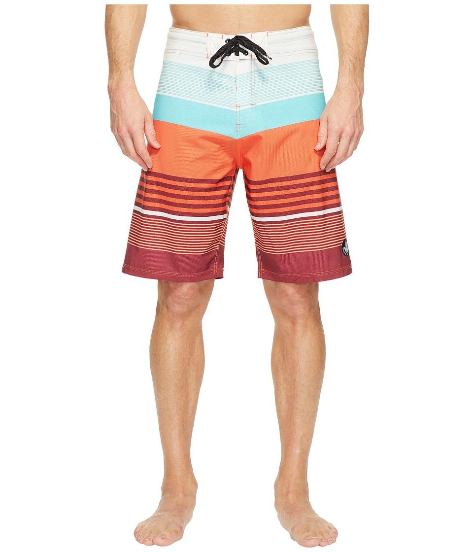 Body Glove - Vapor Cuda Boardshorts (Orange) Men's Swimwear