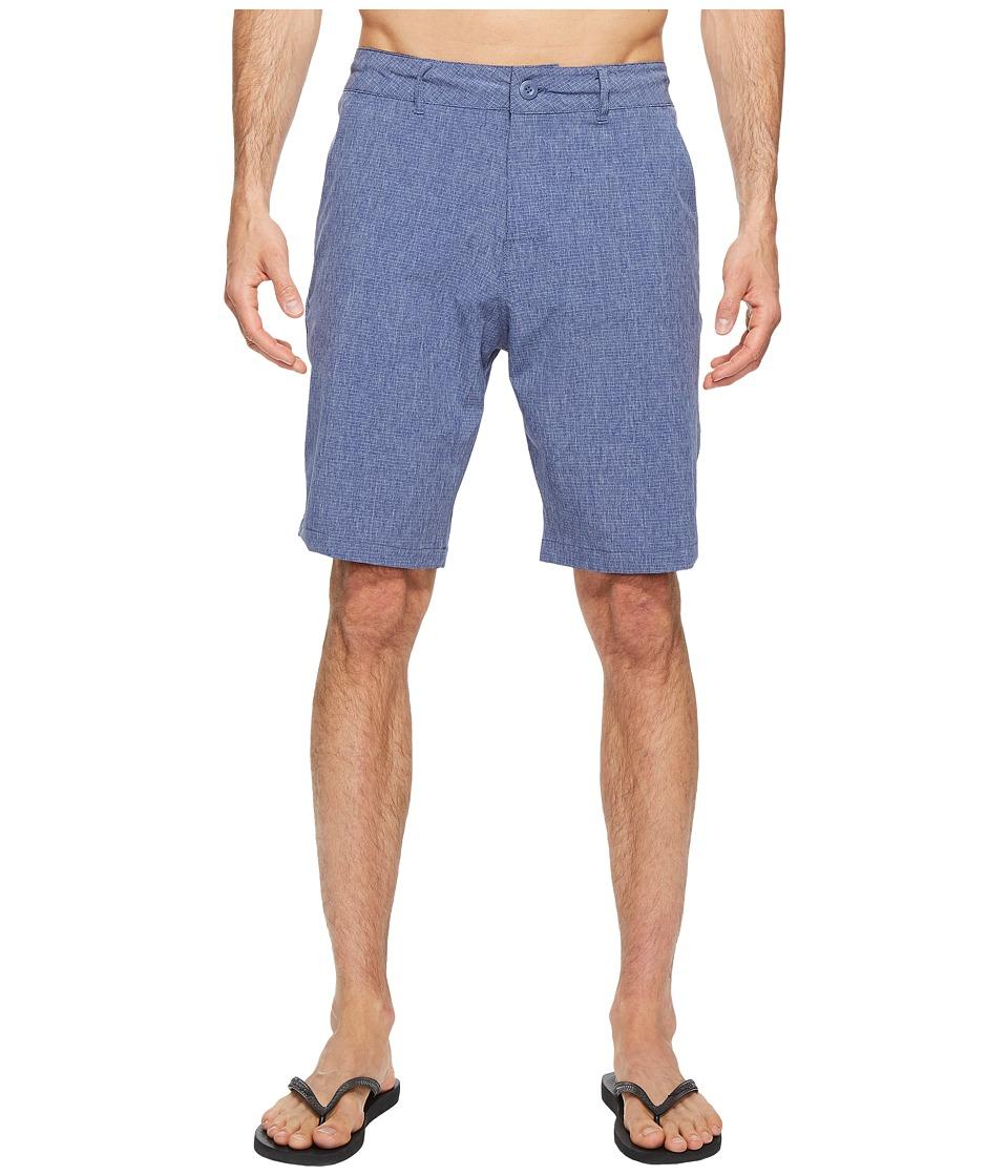 Body Glove - Amphibious Super Chunkie Shorts (Indigo Heather) Men's Swimwear