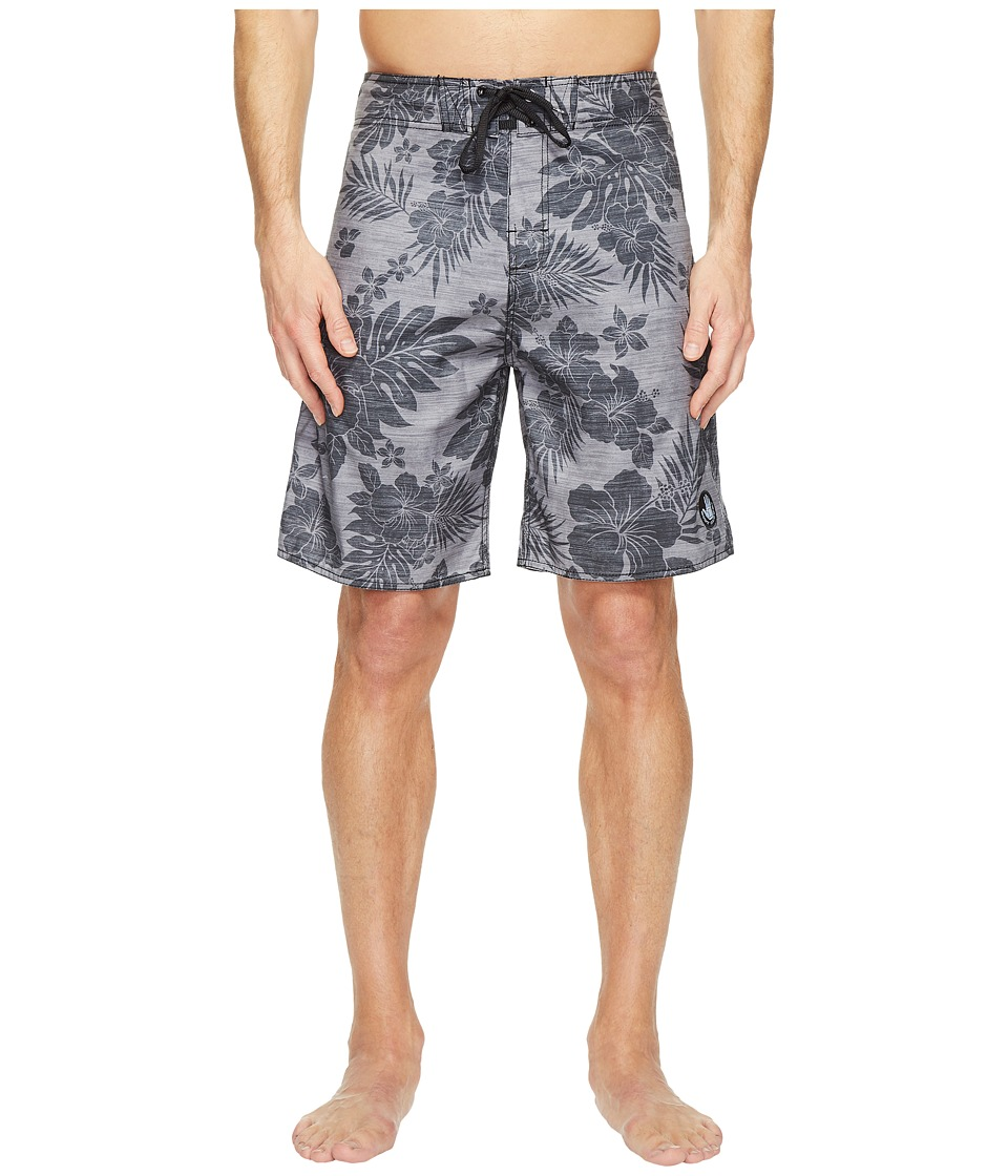 Body Glove - Luau Time Boardshorts (Black) Men's Swimwear