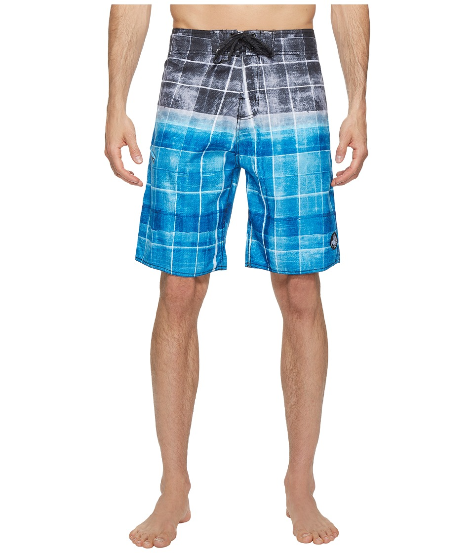 Body Glove - Block Head Boardshort (Blue) Men's Swimwear