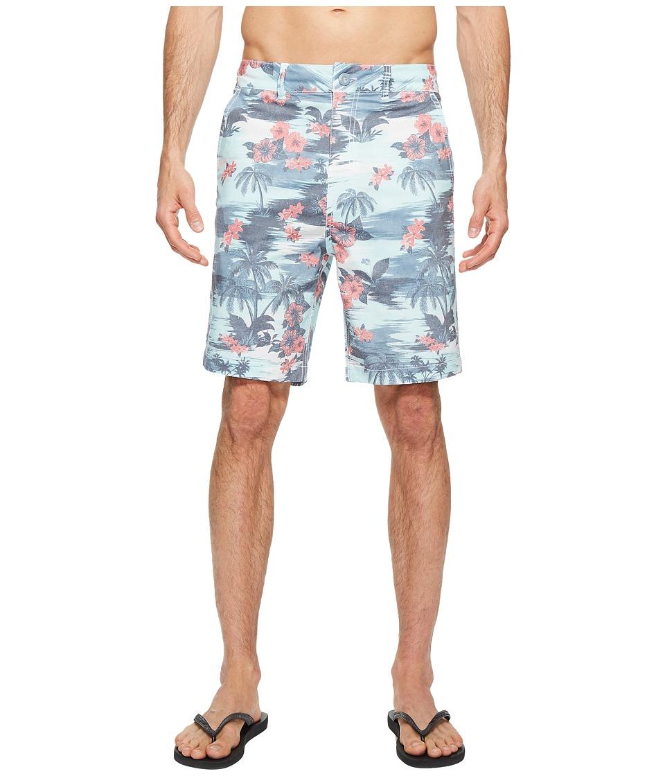 Body Glove Amphibious Island Style Shorts (Light Mint) Men