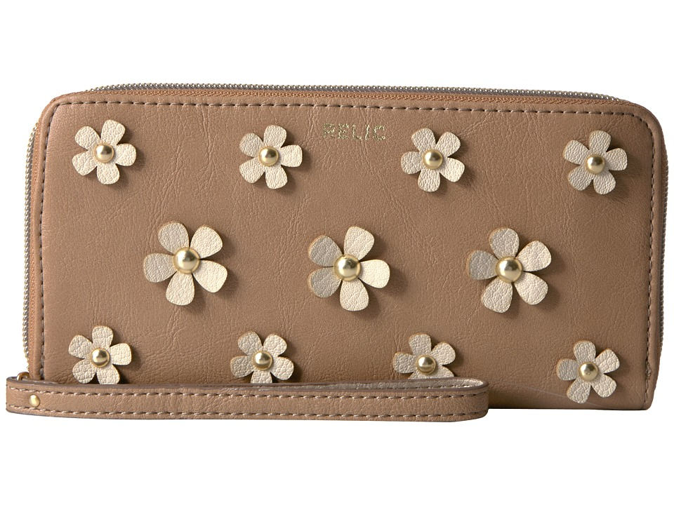 Relic - Emma Checkbook (Tan) Checkbook Wallet