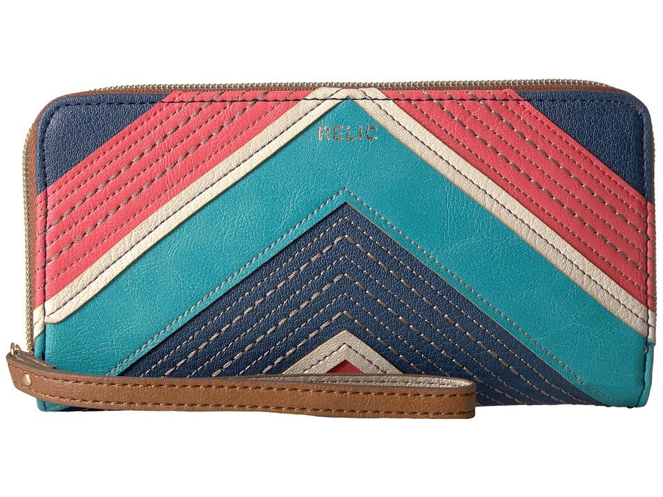 Relic - Emma Checkbook (Bright Multi) Checkbook Wallet