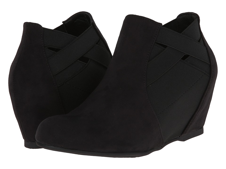 CL By Laundry Savina (Black Suede) Women