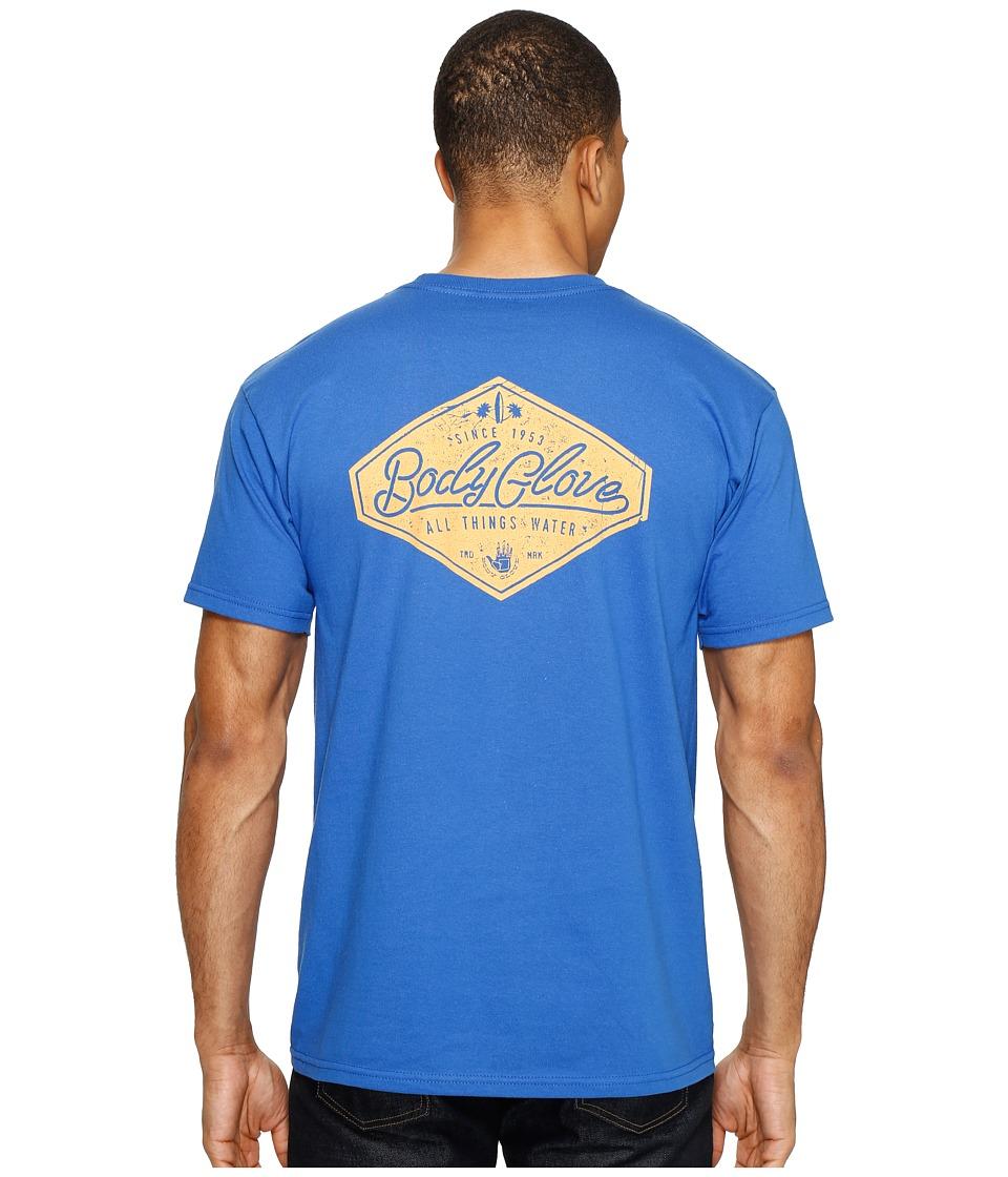 Body Glove - Classic Tee (Royal) Men's T Shirt