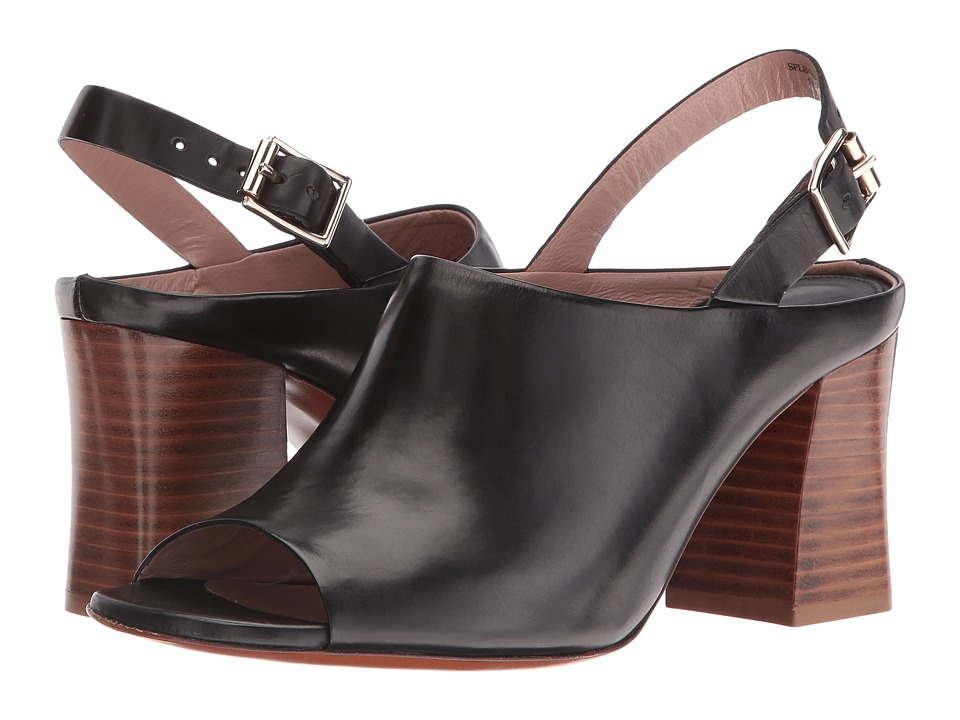 Paul Smith Roe Putty Resina Strap Heel (Nero) Women