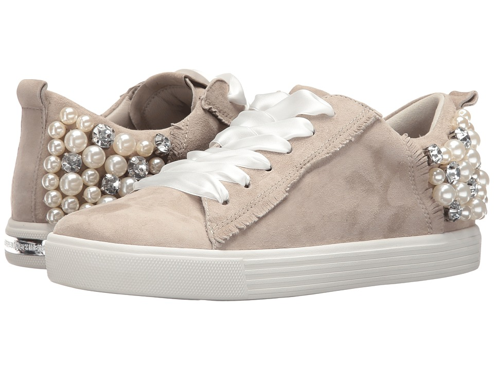 Kennel & Schmenger - Pearl Sneaker (Cement Suede) Women's Lace up casual Shoes