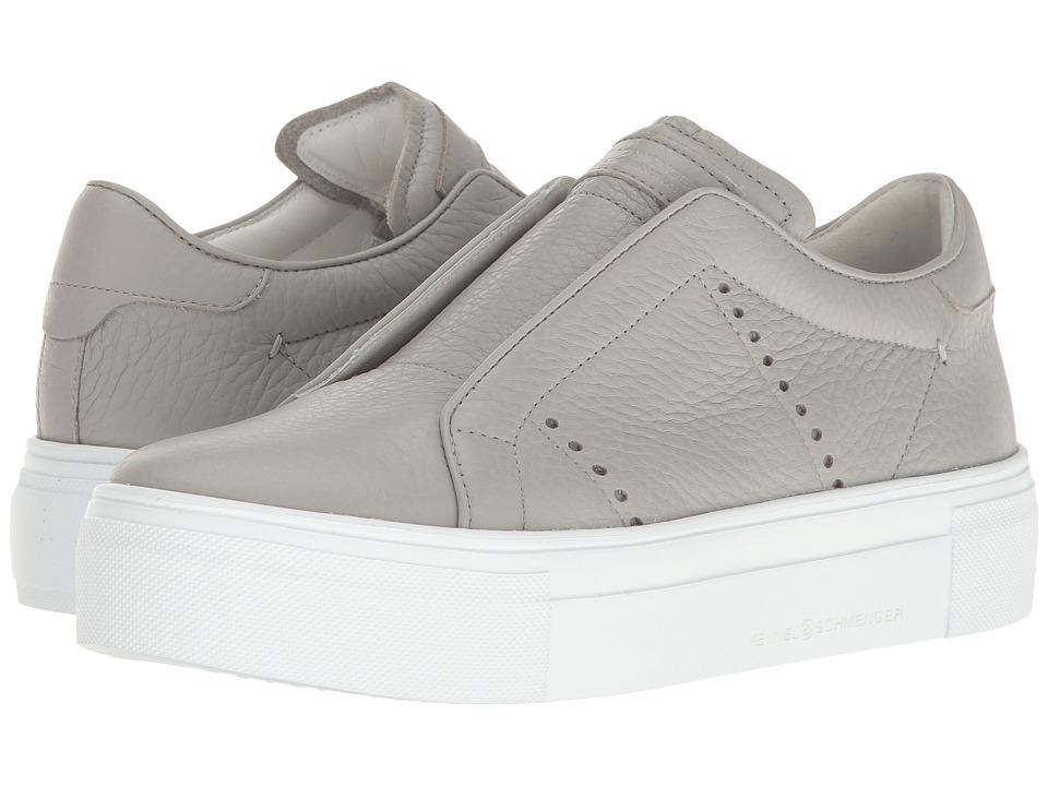 Kennel & Schmenger - Flatform Slip-On Sneaker (Grey) Women's Slip on Shoes