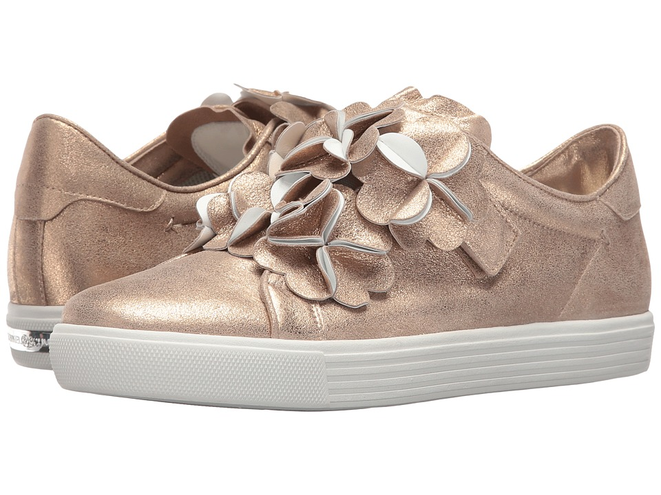 Kennel & Schmenger - Leather Flower Sneaker (Topaz/White) Women's Lace up casual Shoes
