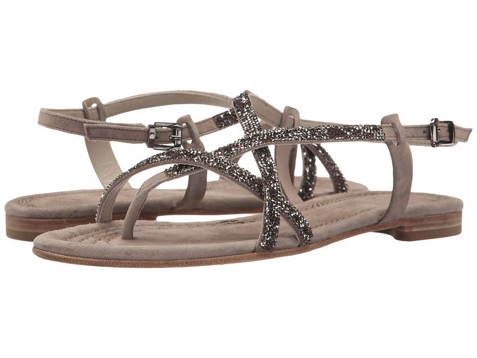 Kennel & Schmenger Sparkle Elle Sandal (Ghost/Silk) Women