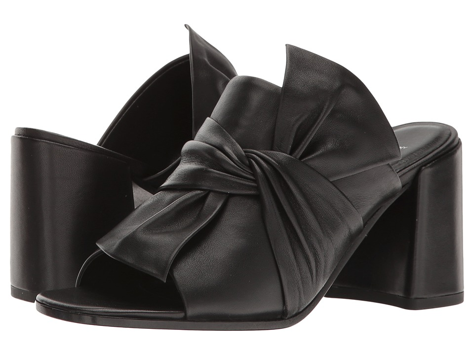 Kennel & Schmenger Gigi Bow Mule (Black Nappa) Women