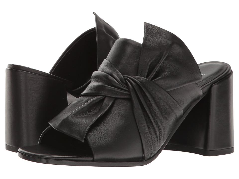 Kennel & Schmenger Gigi Bow Mule (Black Nappa) Women