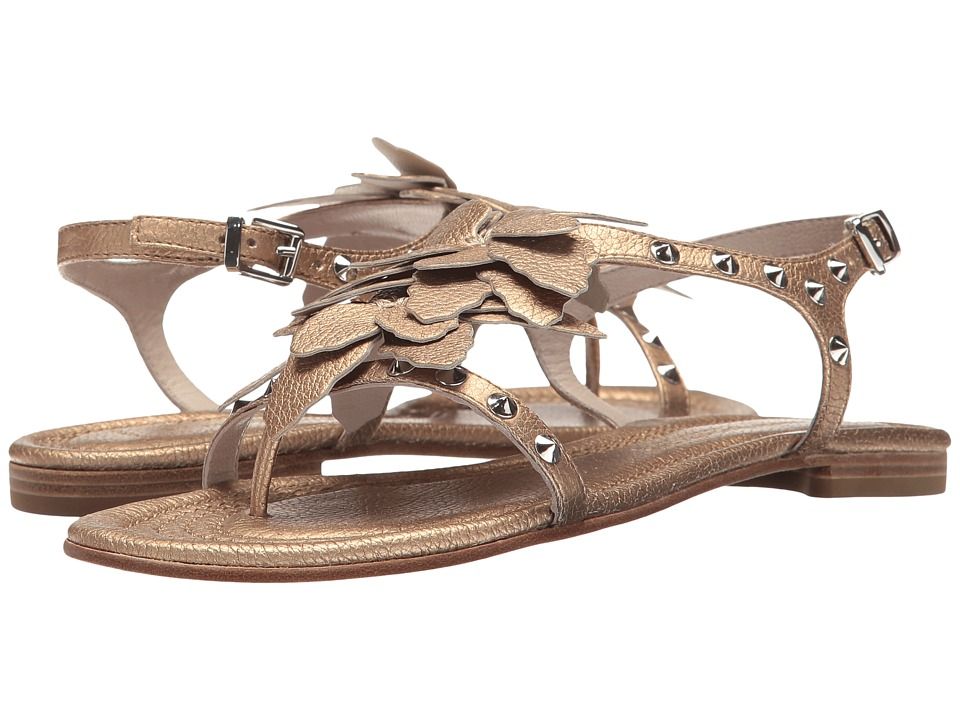 Kennel & Schmenger - Oversized Flower Sandal (Topaz/Silver) Women's Shoes