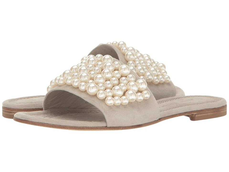Kennel & Schmenger - Pearl Slide Sandal (Cement/Pearls) Women's Shoes