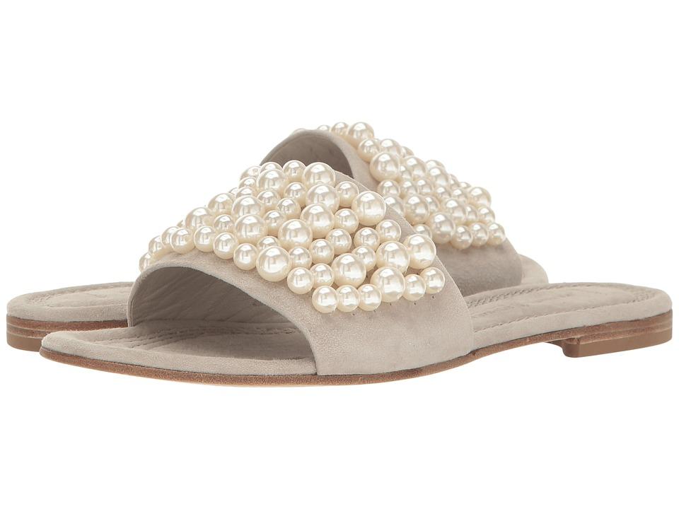 Kennel & Schmenger Pearl Slide Sandal (Cement/Pearls) Women