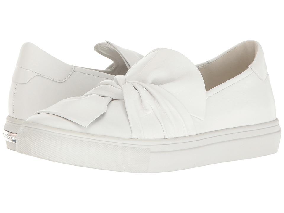Kennel & Schmenger - Bow Sneaker (White) Women's Shoes
