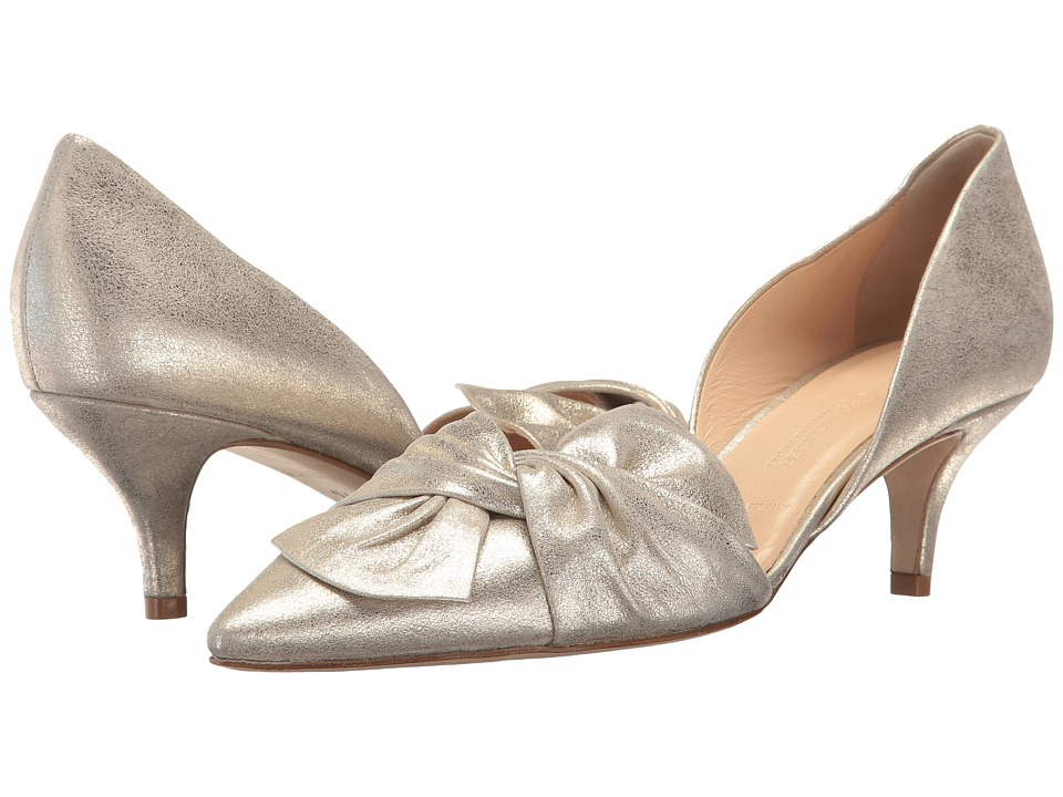 Kennel & Schmenger - Selma Bow D'Orsay (Light Gold) Women's Shoes