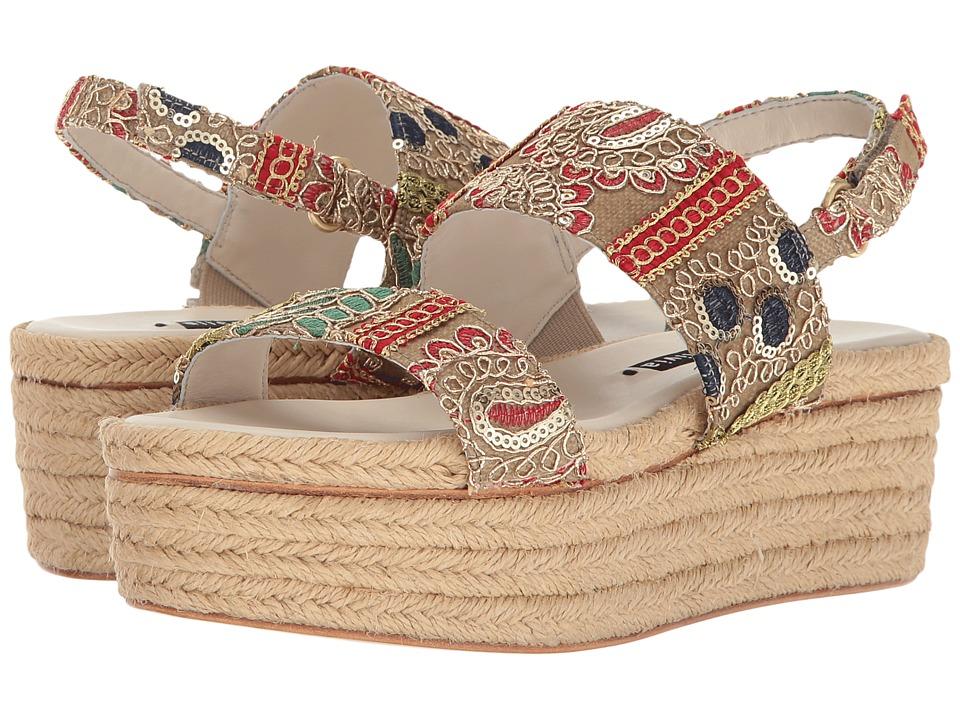 Alice + Olivia - Anastasia (Multi Sequin Fabric) Women's Shoes