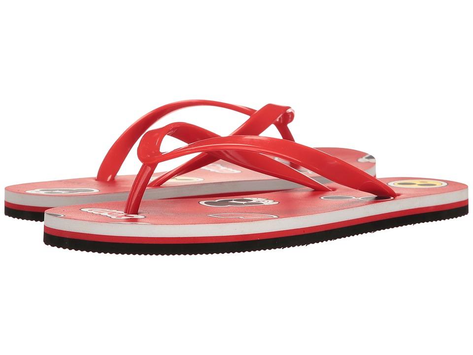 Alice + Olivia - Catalina Emojies (Poppy Rubber) Women's Shoes