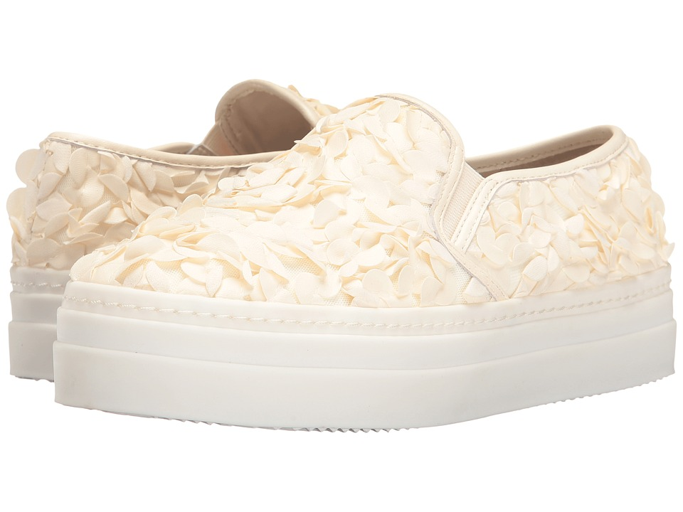 Alice + Olivia Sasha (Bone Leather Flowers/Nappa) Women