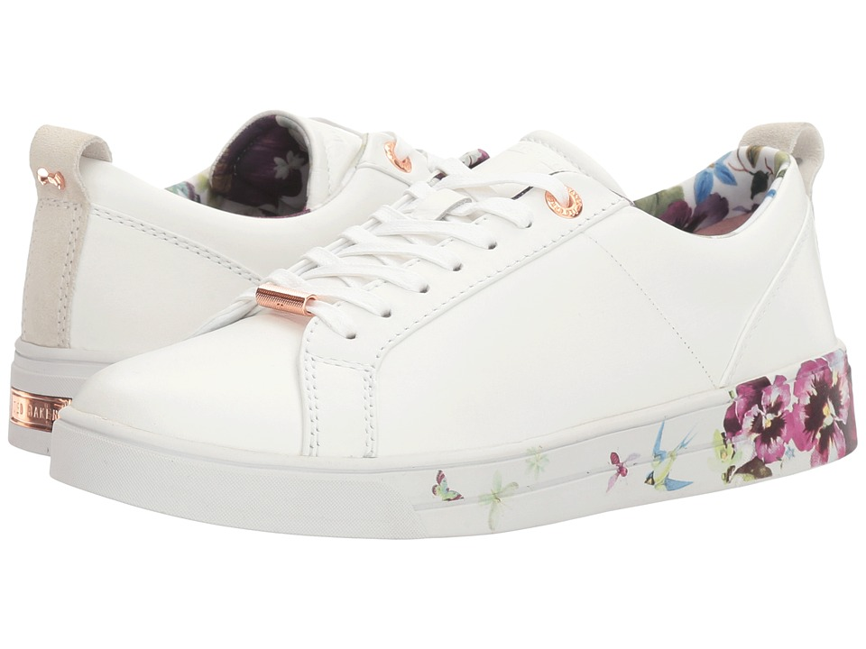 Ted Baker - Barrica (White Leather) Women's Shoes