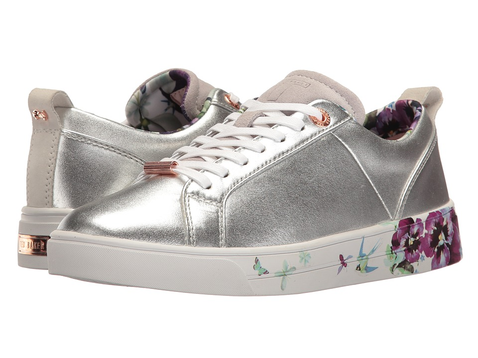 Ted Baker - Barrica (Matt Silver Leather) Women's Shoes
