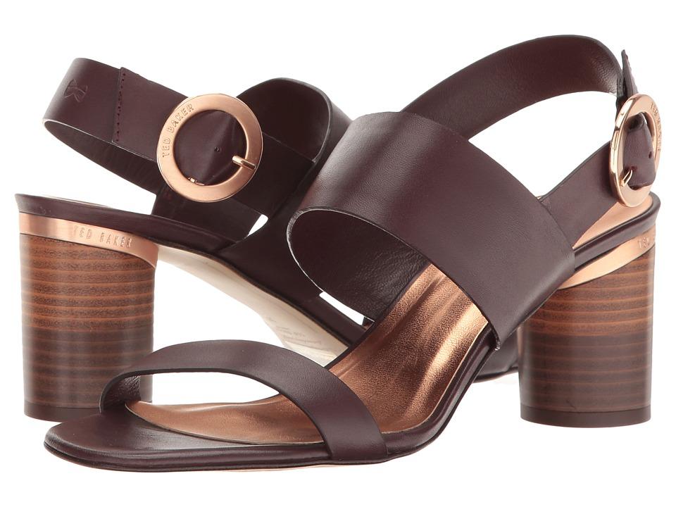 Ted Baker - Azmara (Maroon Leather) Women's Shoes