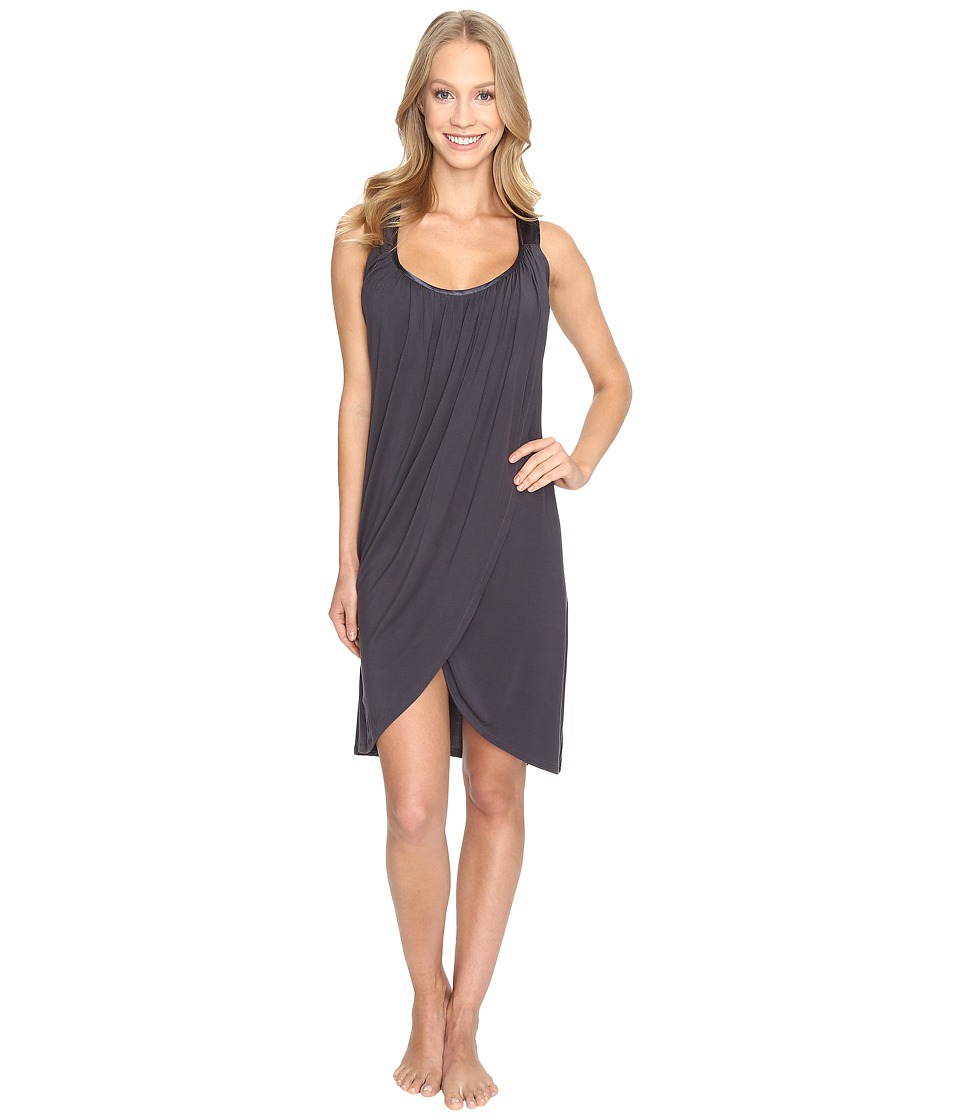 Midnight by Carole Hochman - Modal Chemise (Grey) Women's Pajama