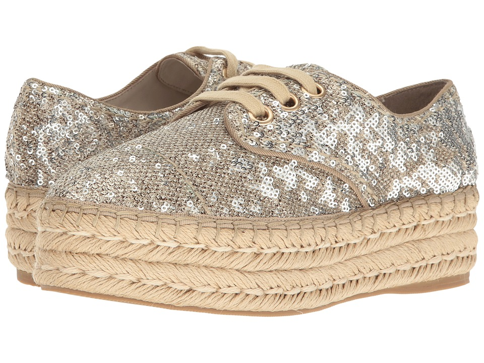 Alice + Olivia - Rory (Gold Moving Sequins) Women's Shoes