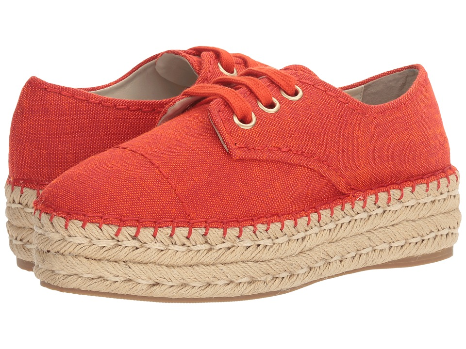 Alice + Olivia - Rory (Red Linen) Women's Shoes