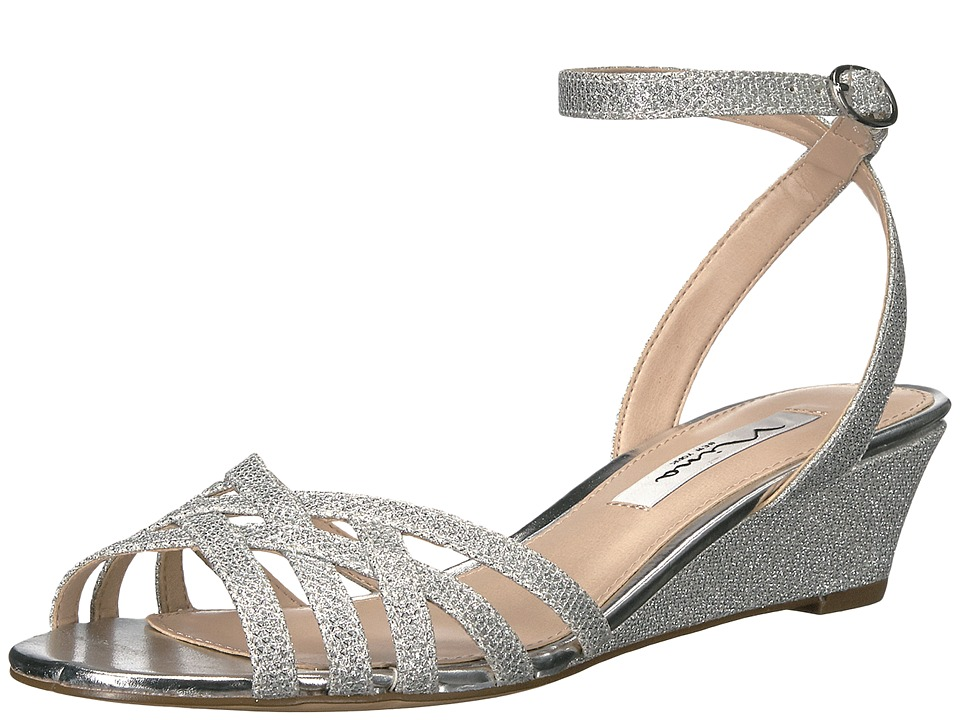 Nina - Faria (Silver Dreamland) Women's Sandals