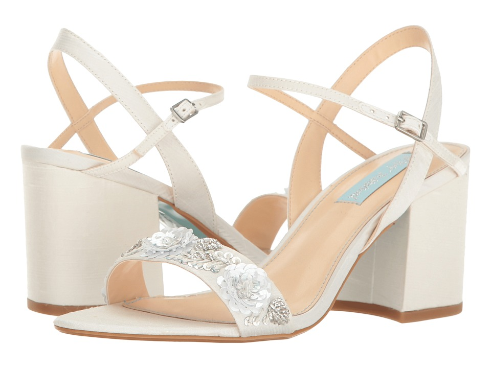 Betsey Johnson Brett (Ivory) High Heels